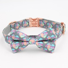 FU Dog Collar, Bow Tie And Leash