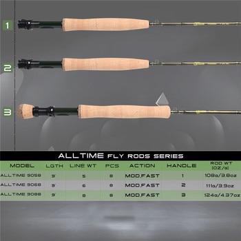 Maximumcatch AllTime – 8 osainen matkavapa