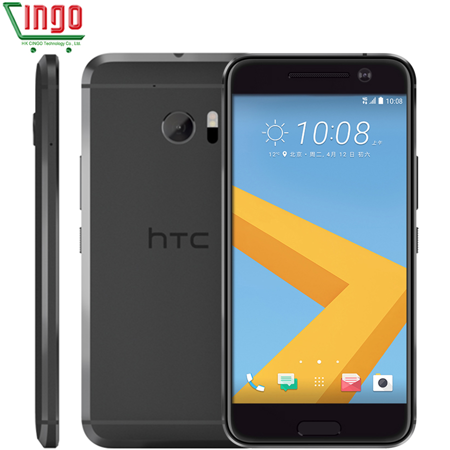 HTC M10 RAM 4GB ROM 32GB Quad Core 3000mAh 5.2 inch 12MP Camera NFC Nano SIM Rapid Charger 3.0 4G LTE Cellphone image