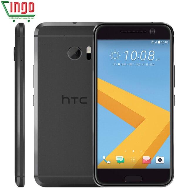 HTC 10 M10 Оперативная память 4 ГБ Встроенная память 32 ГБ 4 ядра 3000 мАч 5.2 дюймов 12MP Камера NFC Nano SIM быстрого зарядное устройство 3.0 4 г LTE телефон