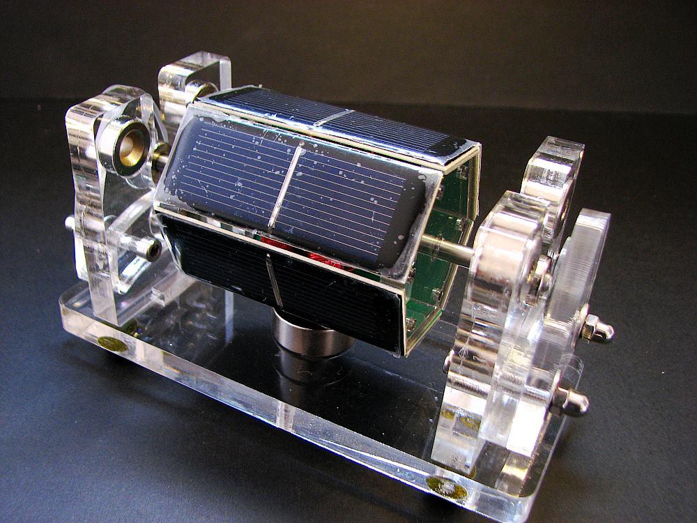 Suspension magnétique Mendocino Moteur Optique motif Perpétuel mouvement énergie Solaire