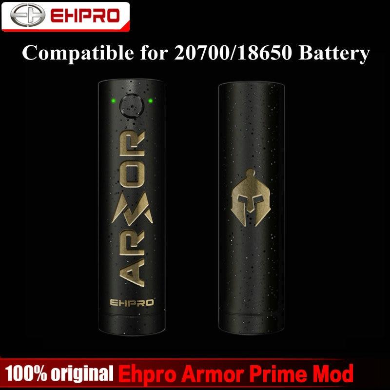 Original Ehpro Armor Prime Mechanical Mod 510 Thread Fit for 20700 18650 Battery Electronic Cigarette Vape Mod for RTA RDA Tank ehpro armor prime mod
