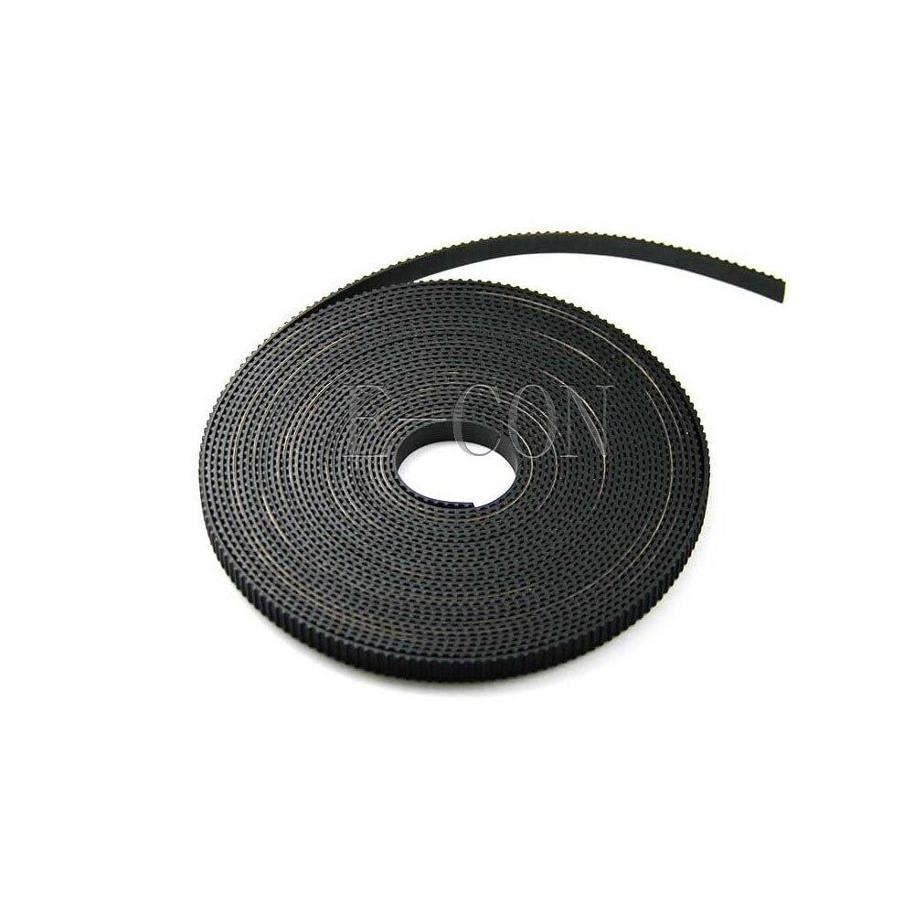 10 Meter für 3D Drucker Breit Glasfaser Belt DE 5 Gummi GT2-6mm Zahnriemen