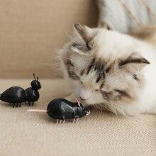 [Магазин MPK] игрушка для кошек на батарейках, черный муравей/мышь, Белый муравей/мышь, электрическая быстро движущаяся игрушка, серия игрушек для кошек