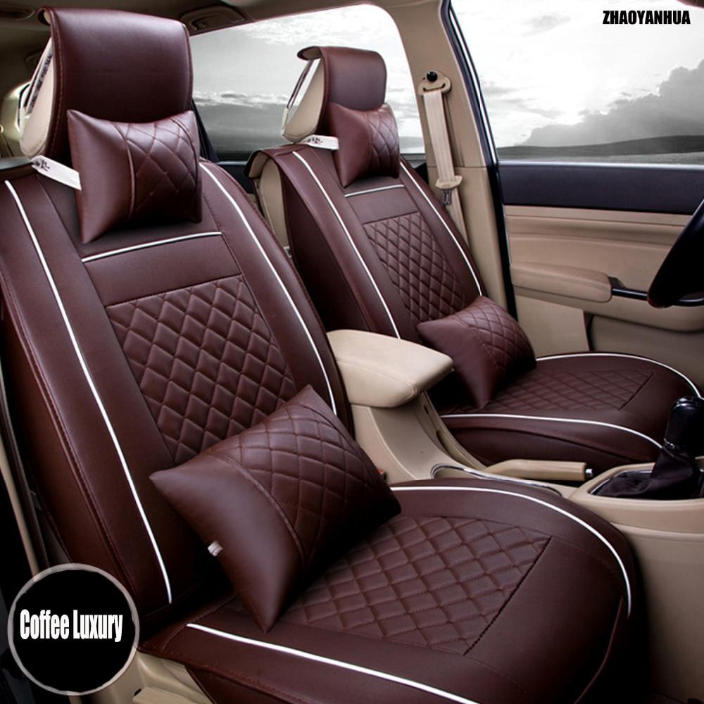 Zhaoyanhua сиденья для Mercedes Benz W169 W176 W245 w246 W204 w205 A B C Class 180 200 250 сверхмощный Дело вкладыши ковры