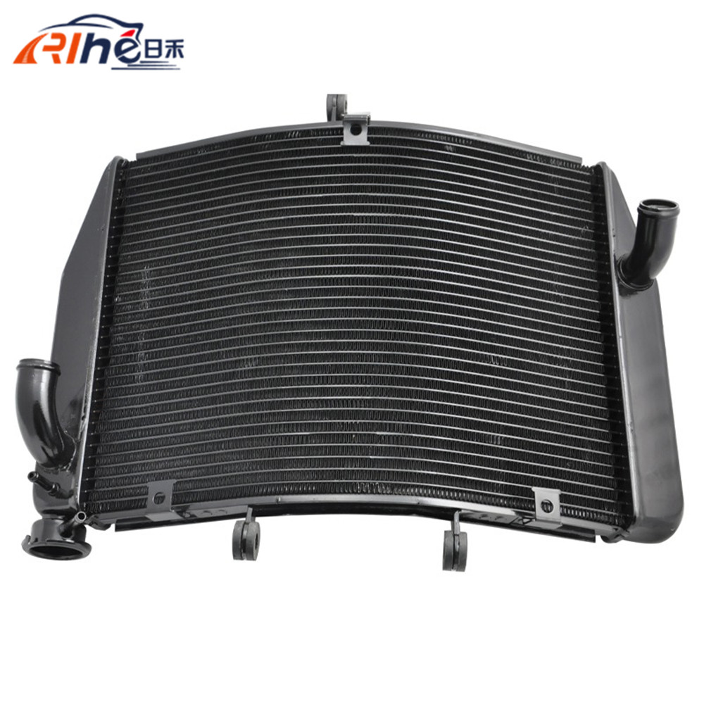 brand new motorcycle accessories radiator cooler aluminum motorbike radiator For Kawasaki NINJA ZX-6R ZX6R ZX 6R 2007 aluminum motorcycle cooler radiator for kawasaki 2004 2005 ninja zx10r china motorcycle parts and accessories