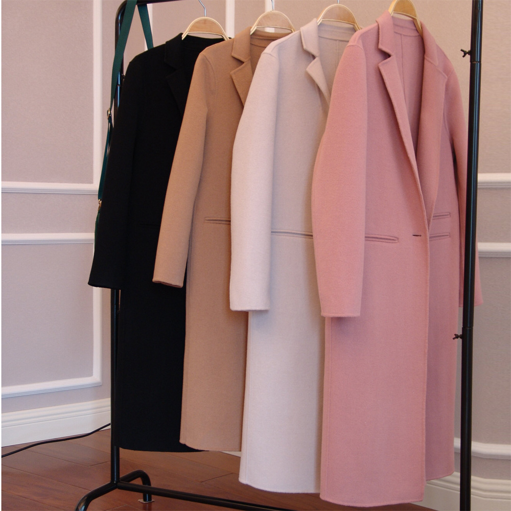 Popular 100 Cashmere Coats-Buy Cheap 100 Cashmere Coats lots from ...