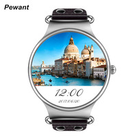 Learther KW98 Smart Watch Android OS 5 1 With Google Play Store Weather Heart Rate Monitor