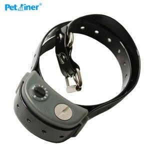 Image 2 - Ipets 855 IPX 67 wodoodporny silne wstrząsy Anti Bark pies przestać szczekać kołnierz dla dużych psów