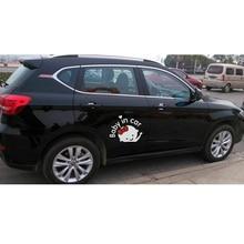"1 Pcs  Car-Styling Cartoon Car Stickers Vinyl Decal Baby on Board ""Baby in car"" Window Rear Windshield Cute Car Sticker"