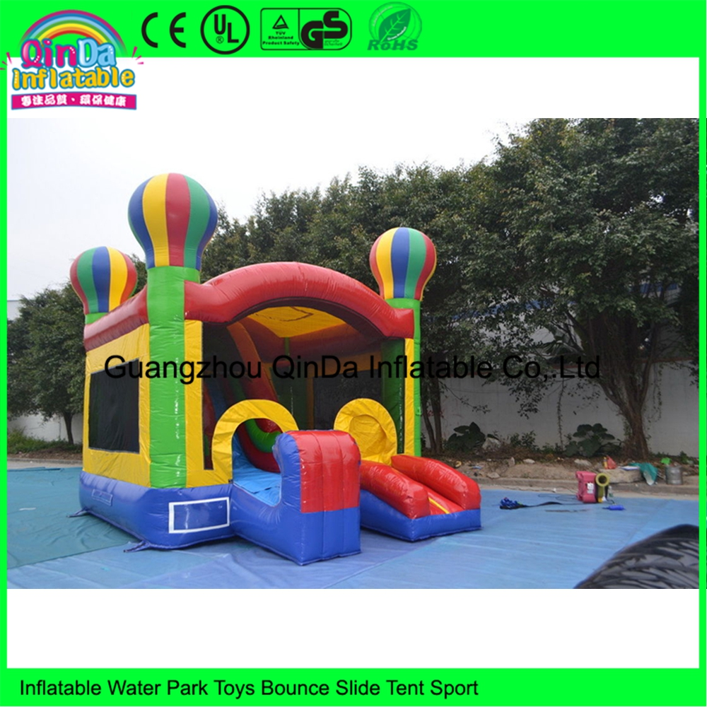 цена на Commercial inflatable jumping bounce house, finflatable kids combo bouncy house for sale