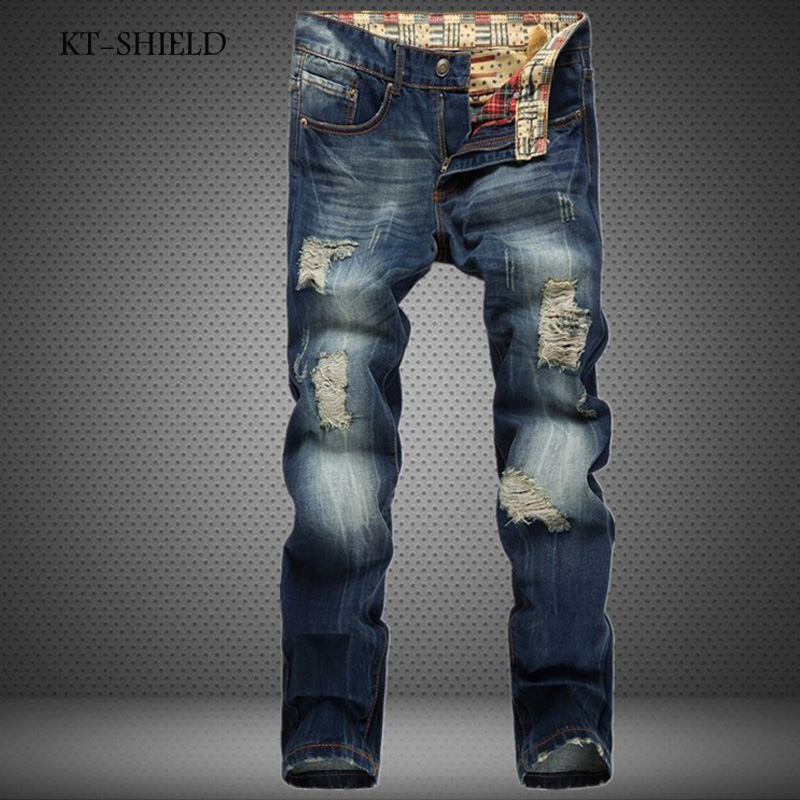 famous brand Mens Ripped jeans male new Runway slim jeans denim Biker Slim jeans hip hop pants Washed Printed blue jeans for men 2017 fashion patch jeans men slim straight denim jeans ripped trousers new famous brand biker jeans logo mens zipper jeans 604