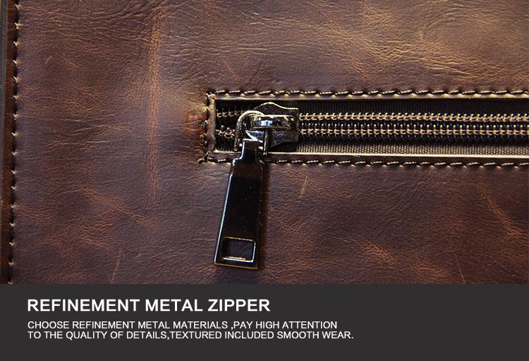 Business Casual Men Leather Designer Handbag High Quality Male Wallet Famous Brand Men's Large Capacity Clutch Bag Brown black 84