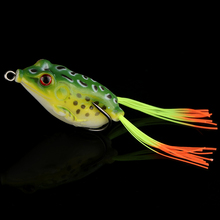 Goture Soft Frog Lure Silicone Bait 5.5cm 12.5g Topwater Fake Fishing Lures Wobblers Artificial Bait with Elegant Box To Be Gift