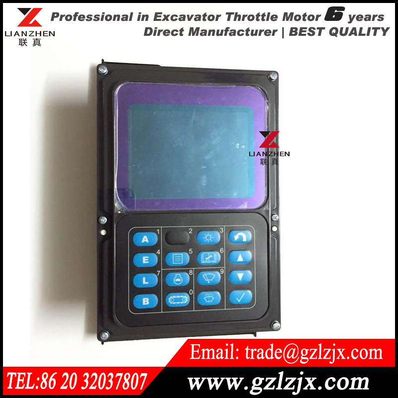 PC160-7 PC150-7 PC200-7 PC300-7  Excavator monitor for Komatsu replacement spare parts English LCD display panel 7835-12-1014