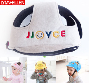 Toddler Cap Baby Anti-fall Head Protection Baby Hat Child Safety Helmet Head Strap Support Infant KidsProtective Bumper(China)