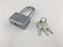 Anti-theft padlock super B-class lock small lock door waterproof rust long padlock free key lock outdoor недорого
