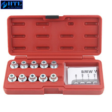 Spline Socket per il Bloccaggio Dado Ruota Set Ruota Lug Nut Remover Adatto Per BMW E66 E60 E90 X5 X3 530