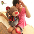 60cm to 80cm high quality super plush toys Cartoon character creative cute mouse bear rabbit doll Gift Free Shipping