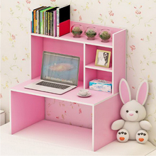 250609/Dormitory artifact lazy bed with laptop desk / college dormitory desk desk / bedroom bookcase table