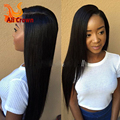 10a Brazilian Virgin Hair U Part Wig Silky Straight U Part Wigs Human Hair Left/Middle/Right U-part Straight Wig For Black Women