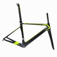 Germany Popular CALLANDER Brand Bicycle Composite Carbon Fiber Frame Carbon Fork Frame Set 700C Road Size
