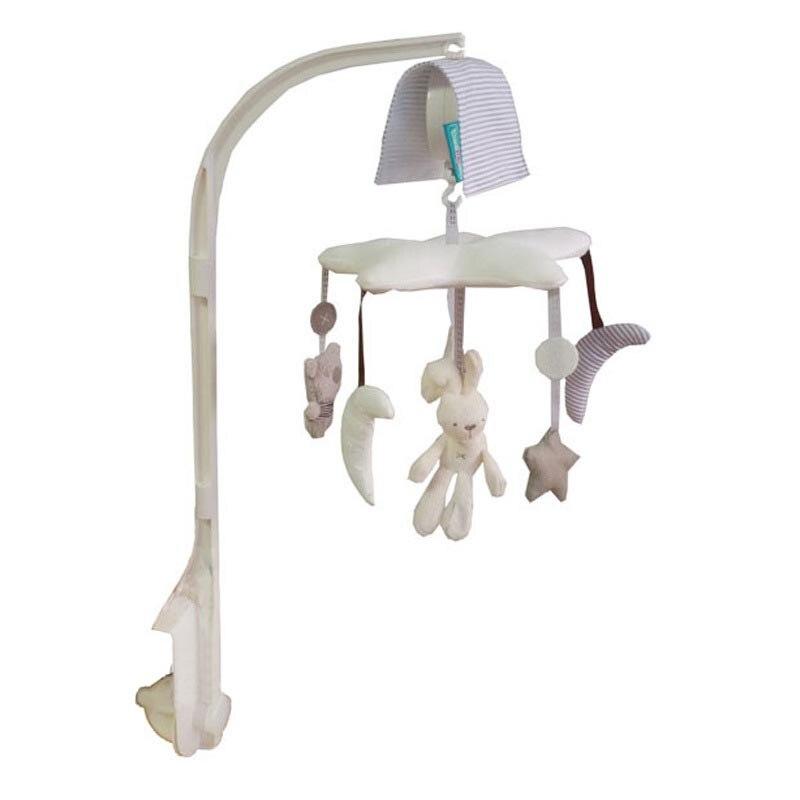 Cloche de berceau pour bébé, jouets de haute qualité, balançoire pour bébé, berceau et lit avec musique, lapin, aide le nouveau-né à dormir, cadeau de noël
