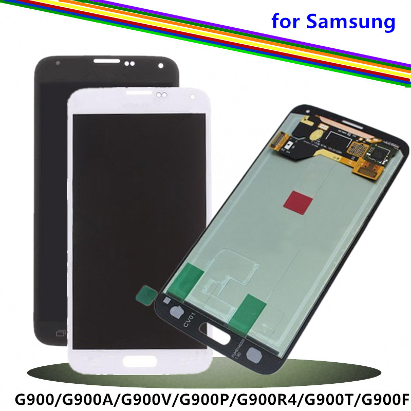 Replacement Screen for Samsung Galaxy S5 LCD Display with Digitizer Assembly SM-G900/G900A/G900V/G900P/G900R4/G900T/G900FReplacement Screen for Samsung Galaxy S5 LCD Display with Digitizer Assembly SM-G900/G900A/G900V/G900P/G900R4/G900T/G900F