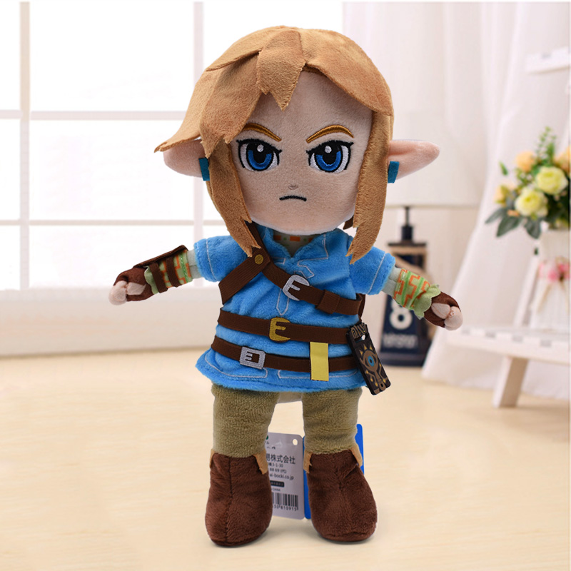 New Arrival 27cm Zelda Plush Toys Cartoon Link Boy With Sword Soft Stuffed Doll for Kids Best Gift in Movies TV from Toys Hobbies