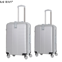 20/26 inch Travel suitcase with wheels Cabin hardside luggage aluminium frame Rolling luggage Spinner Women fashion men trolley
