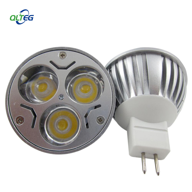 4PCS/LOT MR16 3W LED Bulb 12V 3W LED LAMP MR 16 12V LED SPOTLIGHT WARM WHITE COOL WHITE FREE SHIPPING