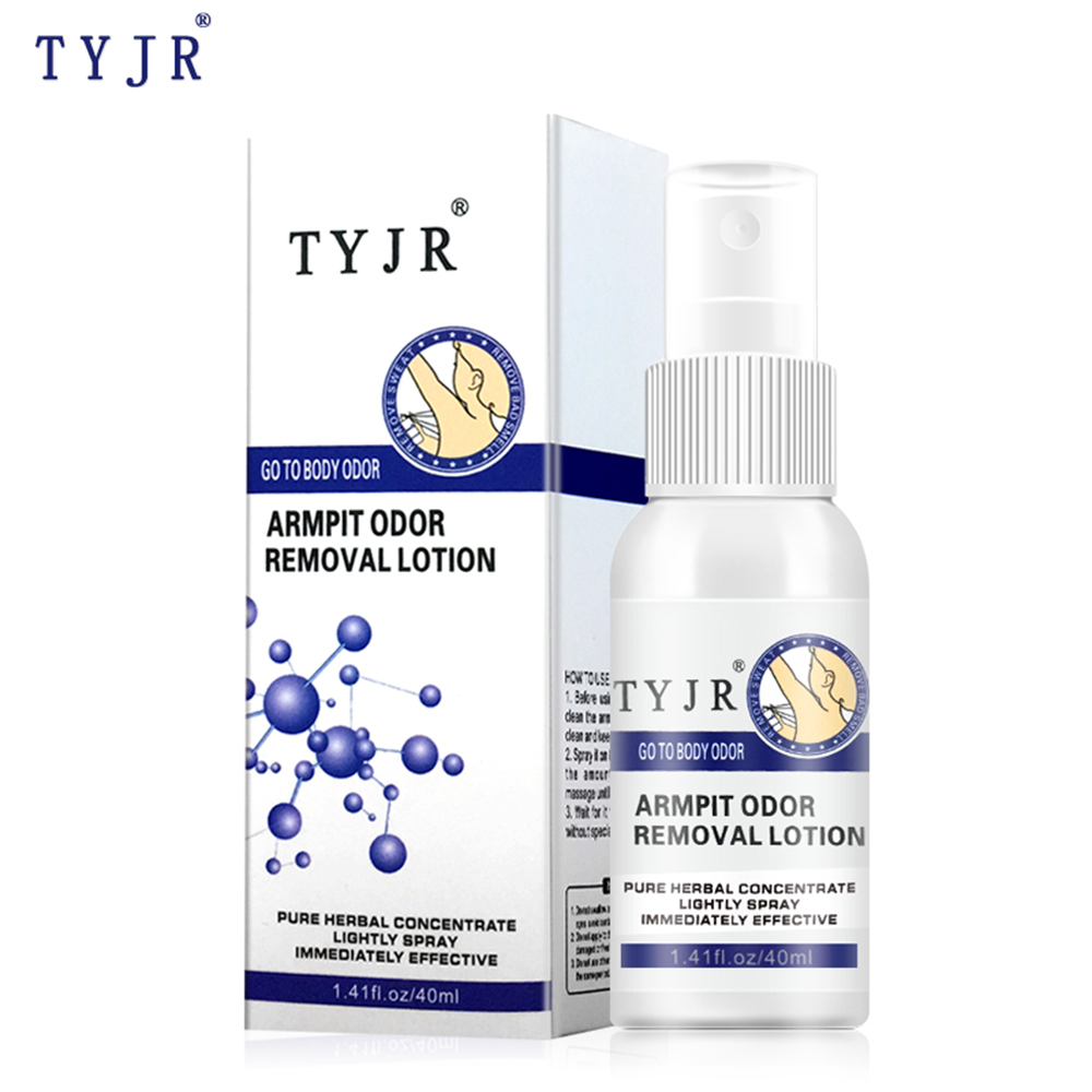 TYJR Herbs Women Man Spray Deodorant Liquid Antiperspirant Stick Alum Deodorant Underarm Sweat Odor Clean Deodorants Spray TSLM1