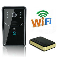 WiFi DoorBell Wireless Smart Video Doorbell HD 720P Doorbell P2P Wireless WIFI Video Door Phone Visual