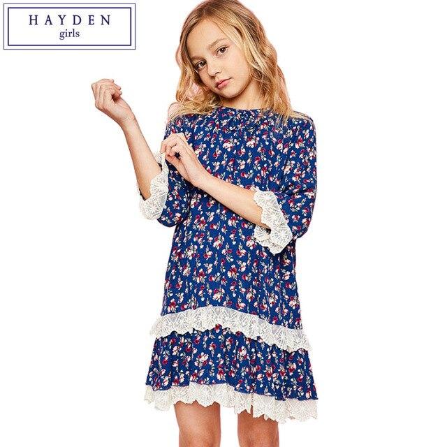 Hayden Mädchen Kleidung Teen Kleid Größe 7 Zu 14 Jahre Mädchen
