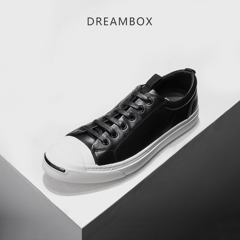 dreambox Summer European and European style real leather breathable with the trend of casual sport low help men's shoes нил янг promise of the real neil young promise of the real the monsanto years cd dvd