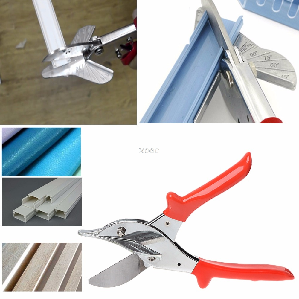 45 120 degree Multi Angle Pipe Scissor PVC Wire Trunking Mitre Trim Cutter Hand Tool May08 Dropship|Hand Tool Sets| |  - title=