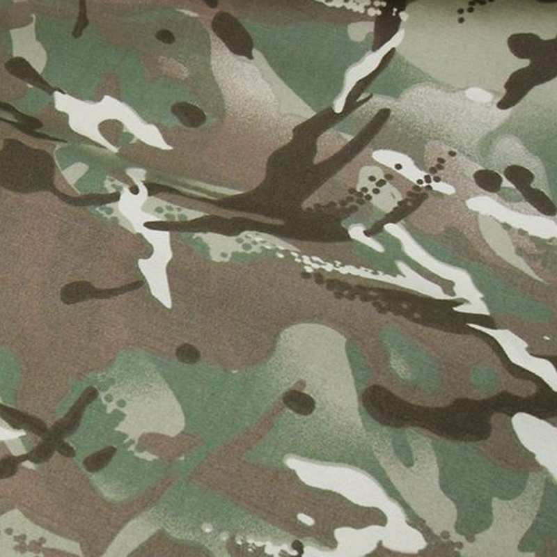 Water-repellent  Army Camouflage Nylon Fabric  5m x 1.5m