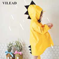 Chubasquero de poliéster para bebé de VILEAD, chubasquero Impermeable para exteriores, Poncho Impermeable para niños, chaqueta de lluvia para niños y niñas, regalo