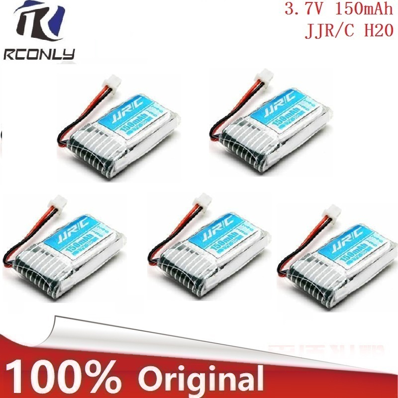 battery and charger 3.7v 150mah for JJRC H20 RC Quadcopter Spare parts 150mah LIPO Batte ...