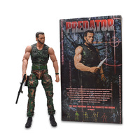 Arnold Schwarzenegger 1/4 Scale Predator Action Figure PVC Terminator Figure Collectible Model Toy Christmas Gift For Children