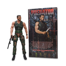 Arnold Schwarzenegger Scale Predator The Terminator Action Figure PVC Figure Collectible Model Toy Christmas Gift For Children цена 2017