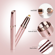 Women Mini Electric Eyebrow Trimmer Shaver Instant Painless Face Brows Hair Remover Epilator Well Touch makeup cosmetics