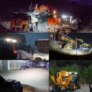 Image 5 - Luz Led antiniebla para trabajo todoterreno, 63W, 4,3 pulgadas, para Auto ATV, Lada, Tractor, camión, SUV, barco, Led 12V 24V 4x4, accesorios