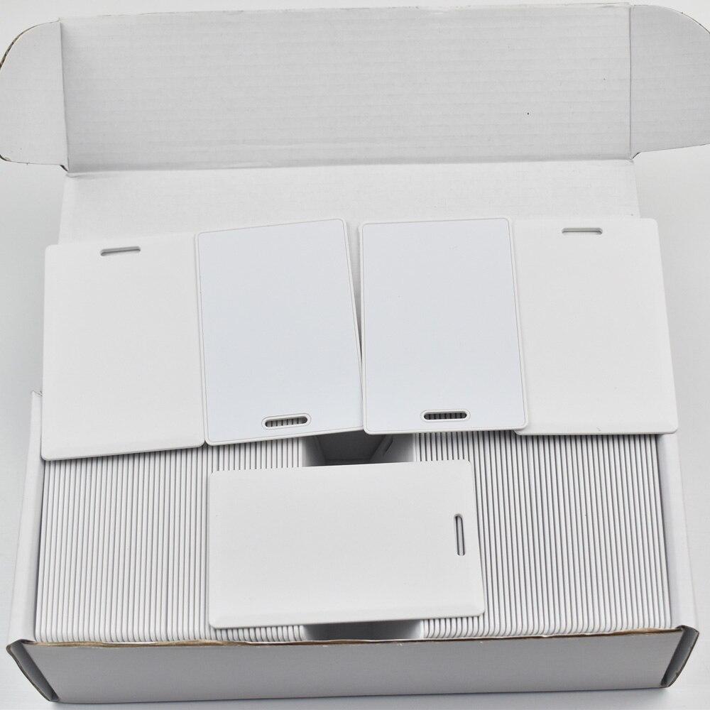 200pcs/lot T5577 writable rewritable blank proximity card Thick pvc 125KHz rfid 18000-2 Smart Card 200pcs lot customable 8 4mm mag stripe 2 track pvc smart card