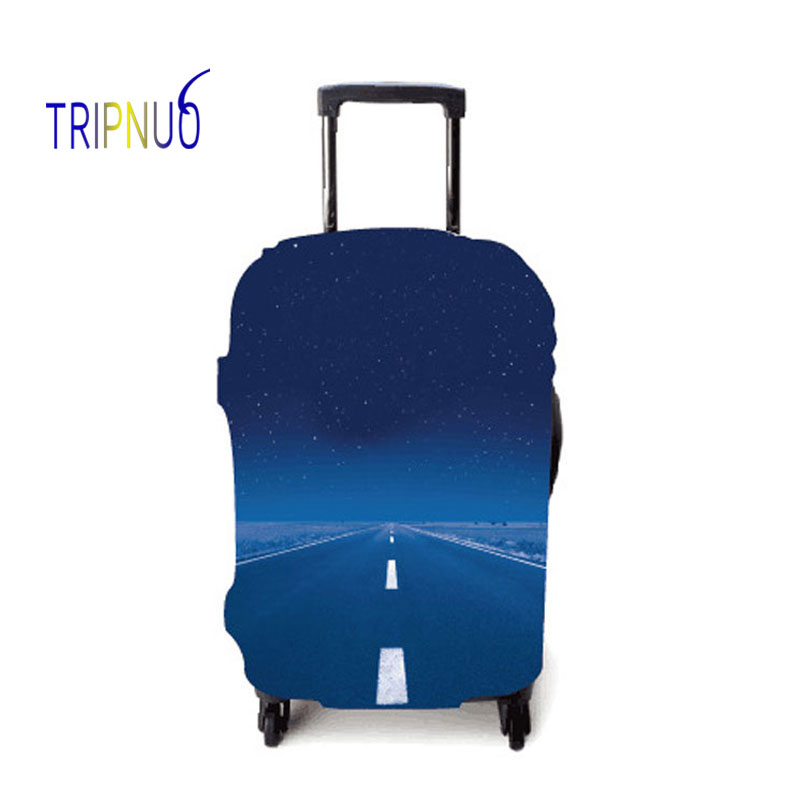 TRIPNUO Travel On Road Cover For Suitcase Travel Elasticity Luggage Protective Covers Elastic Travel Accessories Trolley Cover