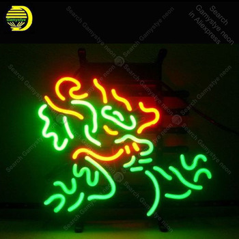 Neon sign For Chinese Dragon Neon Bulb sign store display sport Iconic Handcraft Lamp glass advertise Letrero enseigne lumine