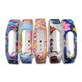 XCSOURCE 5pcs Flower Pattern Replacement WristBand Wrist Strap for Xiaomi Mi 2 Brand Millet Smart Bracelet TH475+