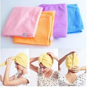 Magic Twist Hair Dryer Quick Drying Towel Salon Wrap Turban Cap Hat New Hot Item Hot полотенце brand new 1 hair drying towel