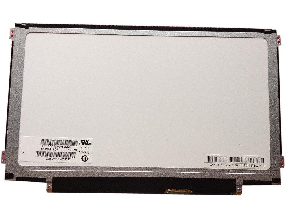 N116b6 L04 Fit Ltn116at07 Lp116wh2 B116xw03 M116nwr1 Ltn116at06 11 6 Slim New Laptop Lcd Screen Panel Laptop Lcd Screen Aliexpress