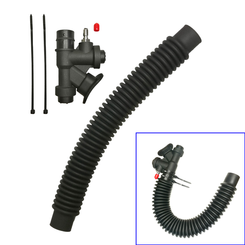 Scuba Diving BCD Inflator K Valve Corrugated Inflator Hose Replacement Inflator Buoyancy Compensator Device